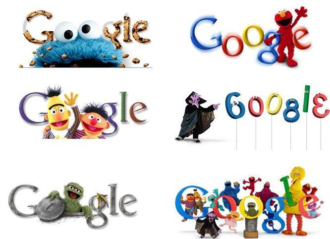 Awesome google today!! GoogleSesameStreetLogos