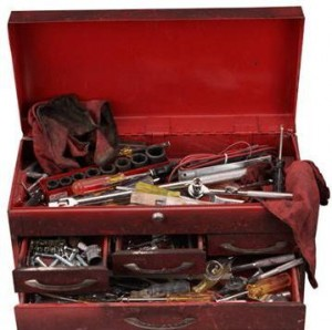 toolboxforstoringribbons