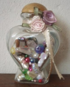 I bought a jar and put in one of every bead design I bought