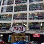 Textile store display