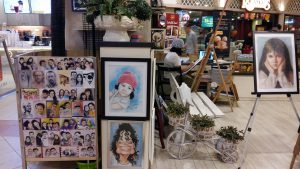 Art shop at Sunway pyramid