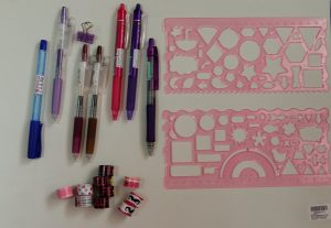 Pens and stationeries