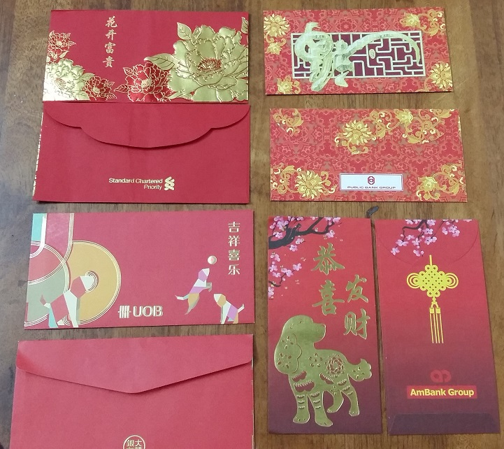 Creative ang pow packet designs