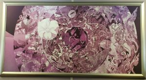 Survanabhumi airport art painting